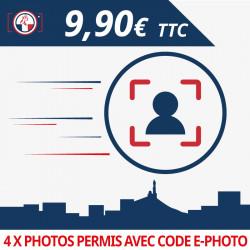 Photo d'identité ANTS avec code numérique (Permis de conduire)